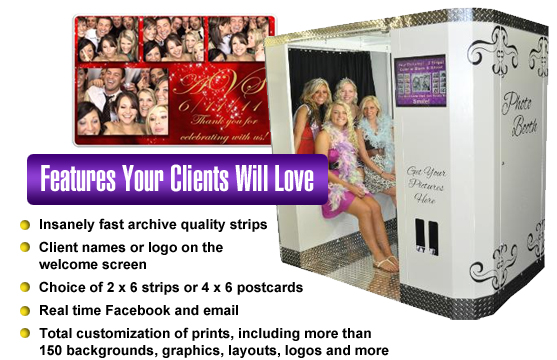 Turn-key photo booth business